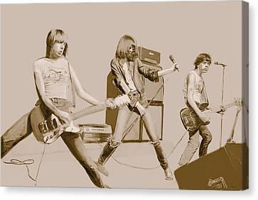Ramones Canvas Print by Kurt Ramschissel