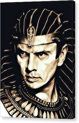 Ramses II Canvas Print by Fred Larucci