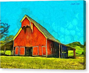 Ranch - Da Canvas Print by Leonardo Digenio