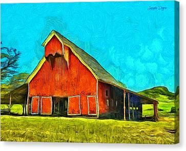 Ranch - Pa Canvas Print by Leonardo Digenio