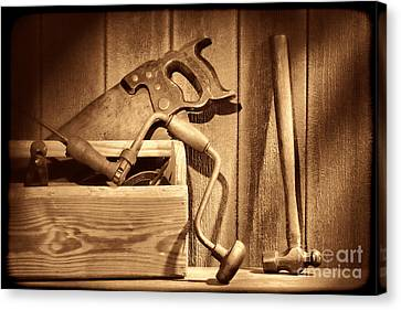 Ranch Tools  Canvas Print by American West Legend By Olivier Le Queinec