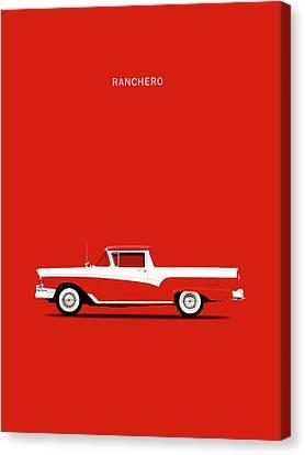 Ranchero 57 Canvas Print by Mark Rogan