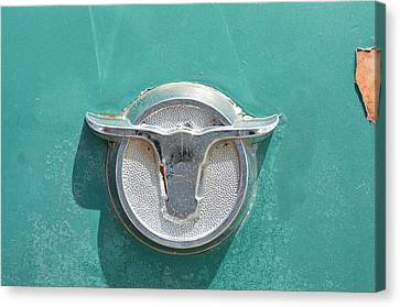 Ranchero Emblem Canvas Print