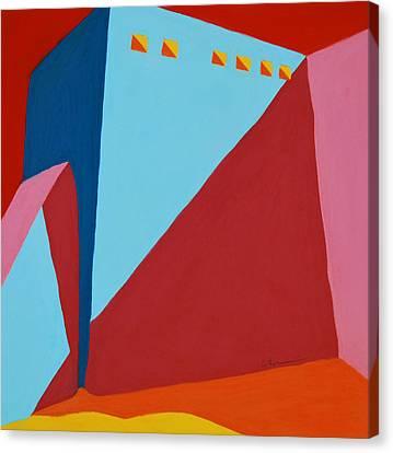Rancho De Taos Canvas Print by Diane Cutter