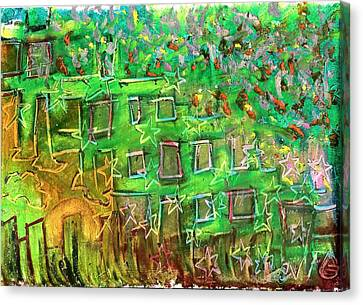Random Patterns Canvas Print by Levi Glassrock