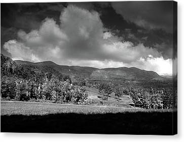 Canvas Print - Rand's View In Black And White by Raymond Salani III