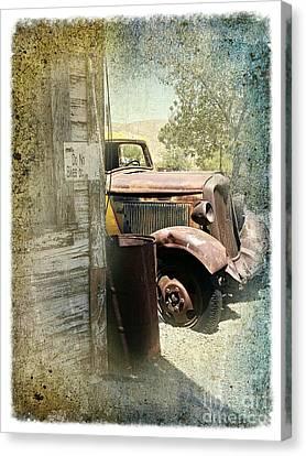 Randsburg Truck 3 Canvas Print