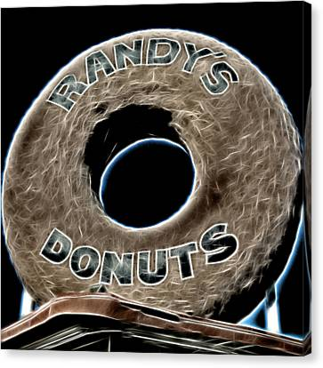 Randy's Donuts - 11 Canvas Print