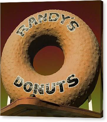 Randy's Donuts - 2 Canvas Print