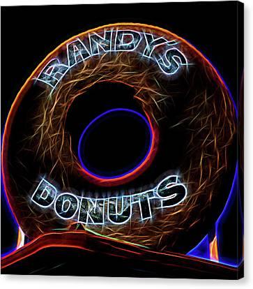 Randy's Donuts - 5 Canvas Print