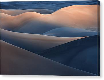 Range Of Colors Canvas Print by Jure Kravanja