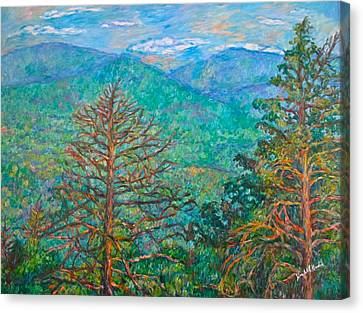 Ranges By Arnold Valley Canvas Print