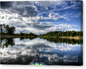 Canvas Print featuring the photograph Rankin Bottoms Hdr by Douglas Stucky