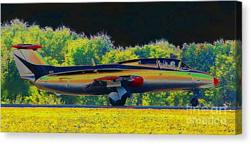 Rapid Fire Canvas Print by Diane E Berry