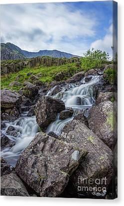 Rapids Of Snowdonia Canvas Print
