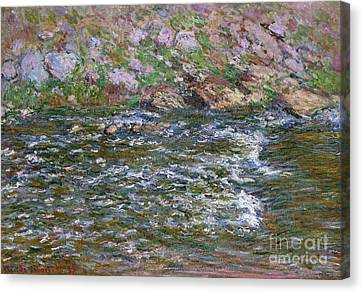 Rapids On The Petite Creuse At Fresselines, 1889 Canvas Print