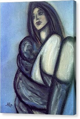 Rapt Canvas Print by Natalie Roberts