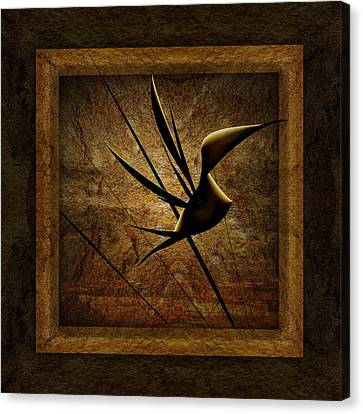 Rare Bird Canvas Print