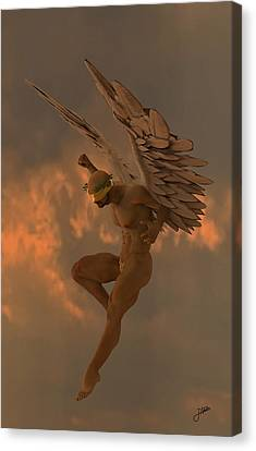Raspberry Angel Canvas Print