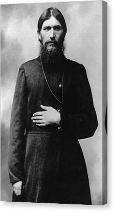 Rasputin The Mad Monk Canvas Print by War Is Hell Store