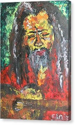 Rasta Man Canvas Print