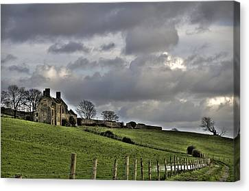 Rathfran House Canvas Print by Marion Galt
