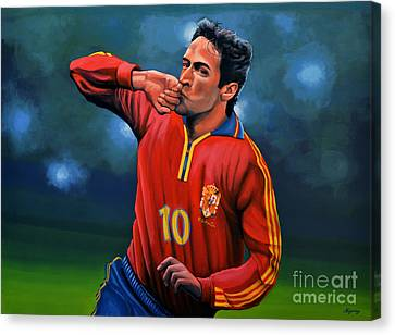 Raul Gonzalez Blanco Canvas Print by Paul Meijering