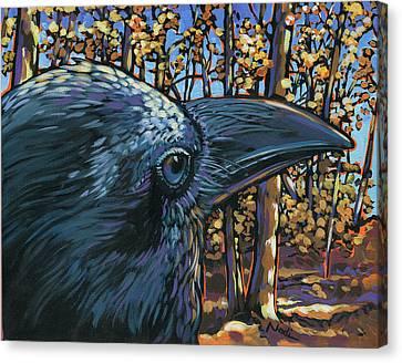 Canvas Print - Raven by Nadi Spencer