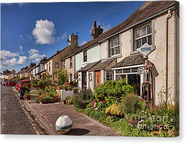 Ravenglass Cottages Canvas Print by Colin and Linda McKie