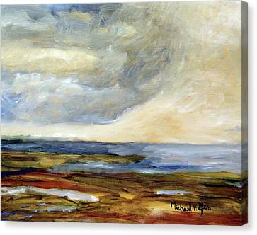 Raw Canvas Print by Michael Helfen