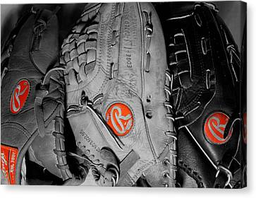 Rawlings In Red Canvas Print by Jame Hayes