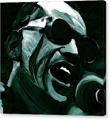 Ray Charles Canvas Print