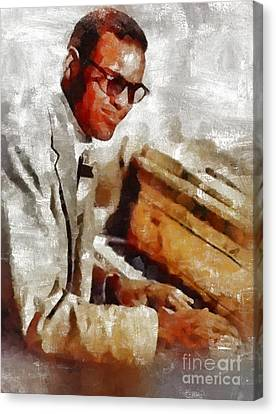 Ray Charles, Music Legend Canvas Print