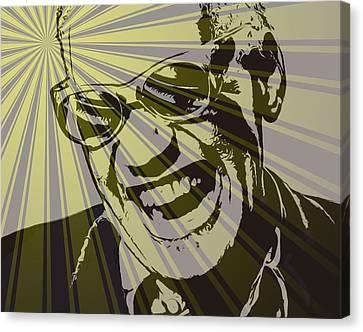 Ray Charles Poster Canvas Print