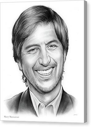 Ray Romano Canvas Print