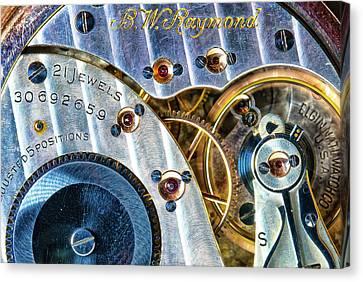 Raymond's Watch Canvas Print by Darren White