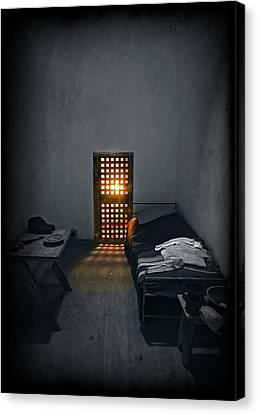 Rays Of Freedom Canvas Print by Evelina Kremsdorf