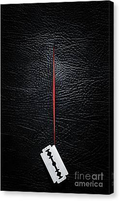 Separation Canvas Print - Razor Cut by Carlos Caetano