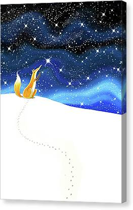 Starlight Canvas Print - Reach  by Andrew Hitchen
