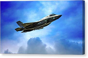 Reach For The Skies Canvas Print