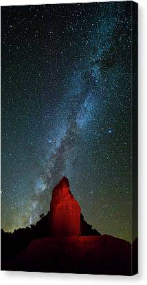 Canvas Print featuring the photograph Reach For The Stars by Stephen Stookey
