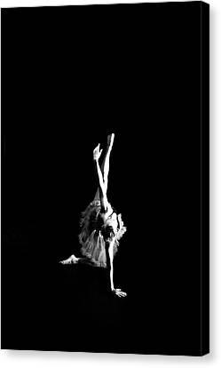 Reaching Ballerina Canvas Print by Scott Sawyer