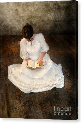 Reading  Canvas Print by Jill Battaglia