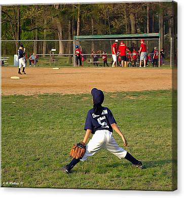 Centerfield Canvas Print - Ready by Brian Wallace