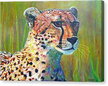 Ready For The Hunt Canvas Print by Michael Durst