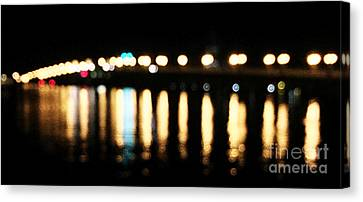 Bridge Of Lions -  Old City Lights Canvas Print
