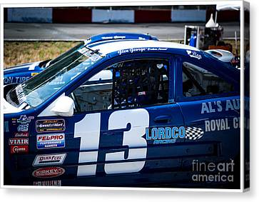 Ready To Race Canvas Print by Wayne Wilton