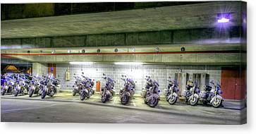 Traffic Control Canvas Print - Ready To Roll by JC Findley
