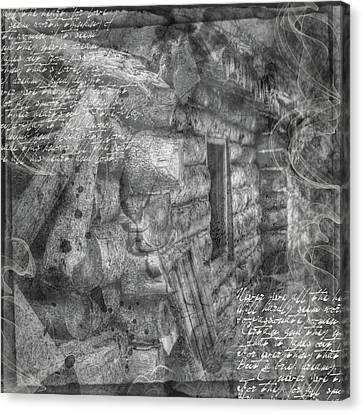 Reality Canvas Print by Nadine Berg