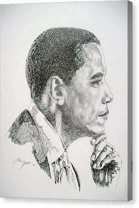 Realizing A Dream Canvas Print by Otis  Cobb